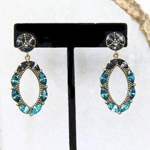 Silpada Peacock Punch Earrings New